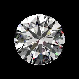 One ct I color VS-1, Passion Fire Diamond, loose round