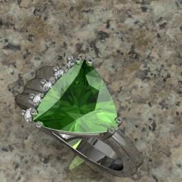 Presalite and diamond