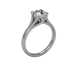 Allure Cathedral Solitaire yellow 03