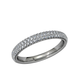 Wimbledon Matching Band - Palladium 1