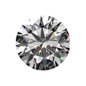 2ct Passion Fire Diamond, J SI-1 loose round