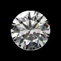 Light 1ct Passion Fire Diamond, J SI-1 loose round