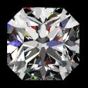 Light 1ct Passion Fire Diamond, H SI-1 loose square