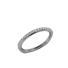Charity Blossom-Wedding Band - 14kt 2