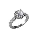 Beloved scalloped solitaire 03