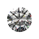 One ct F VS-1, Passion Fire Diamond, loose round