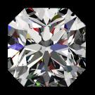 One ct Passion Fire Diamond, I SI-1 loose square