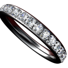 3mm 1/2ct Diamond Band 3
