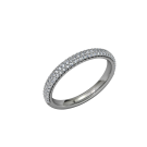 Eternity - Wedding Band - 14kt 2