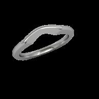 Destiny - Wedding Band - Platinum