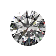 1ct Passion Fire Diamond, J SI-1 loose round