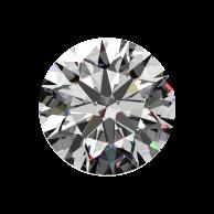 1ct Passion Fire Diamond, J SI-1 loose round