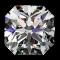 1 1/4 ct Passion Fire Diamond, H SI-1 loose square